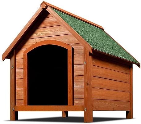 niche en bois pas chère de la marque Deuba